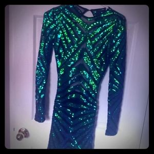 Sequin New year's Eve party dress